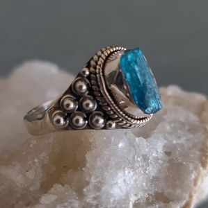 Jewelry - Apatite Sterling Silver Ring